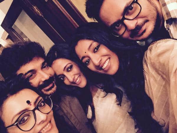 All of us together - shooting Kamaleswar Mukherjee