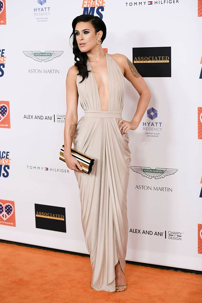 Rumer Willis arrives at the 22nd Annual Race To Erase MS Event in Los Angeles.