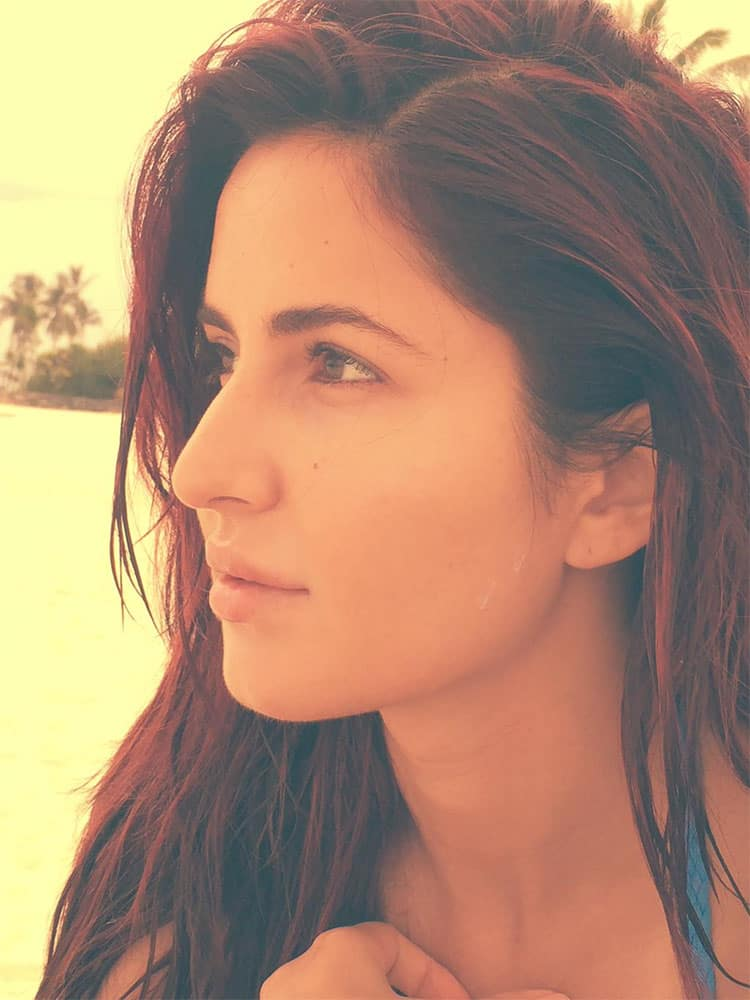 Katrina At Cannes :-Thank you for all the love! Not really a selfie person but my first exclusive one for all my beautiful fans..  -twitter
