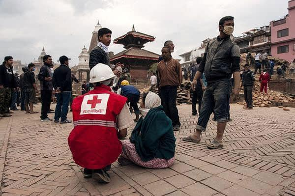 Some photos from this afternoon #NepalEarthquake
