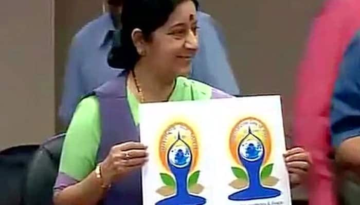 Logo for International Day of Yoga launched