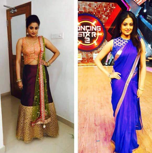 Today on both the dance shows!!!Gum onD2 and Dancing stars!!!  Pic Courtesy: Twiiter@priyamani6