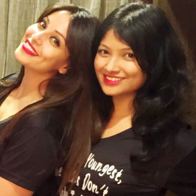 Bipasha Basu :- This little one @vi_basu has grown up to be the smartest of all the Basu girls -instagram