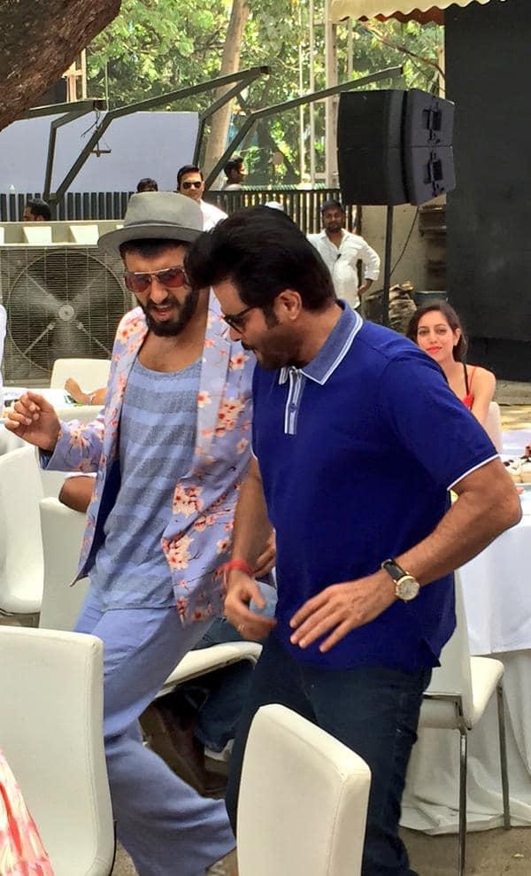 KAMAL MEHRA @AnilKapoor  :-This is how u host a brunch...the Mehras' style! #DDDMusicBrunch @DDDTheFilm @RanveerOfficial  -twitter