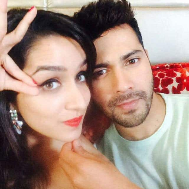Shraddha Kapoor and Varun Dhawan at filmfare office for the cover shoot of next edition of the magazine.  -twitter