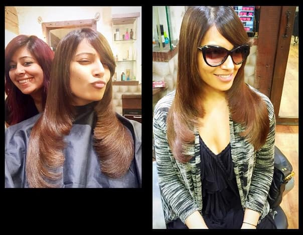 Hair all neat and tidy Thank you @nidapatel from @AalimHakim ! - Instagram@bipashabasu