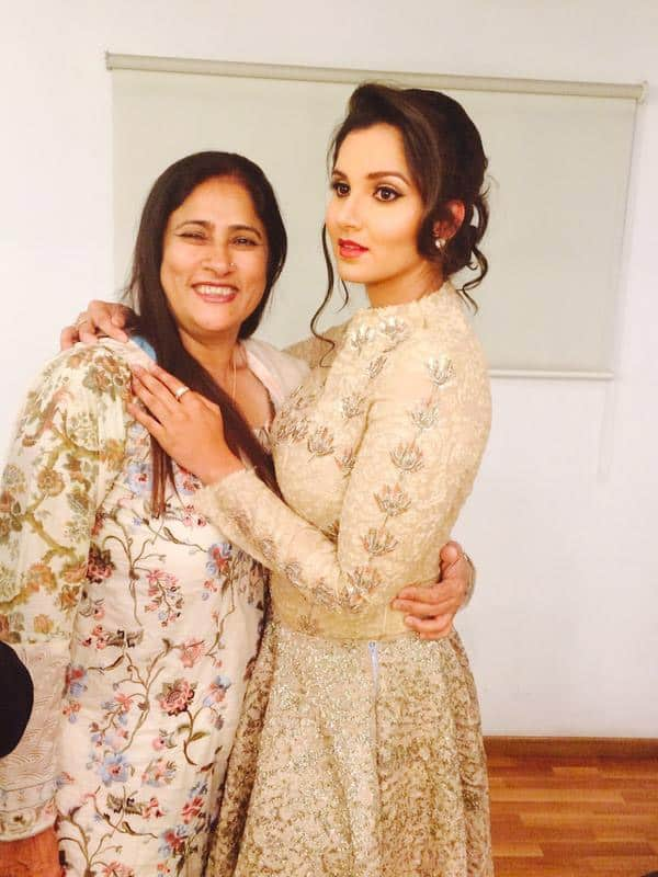 Happy Mother's Day to my rock  love you Mumma ❤ - Twitter@MirzaSania