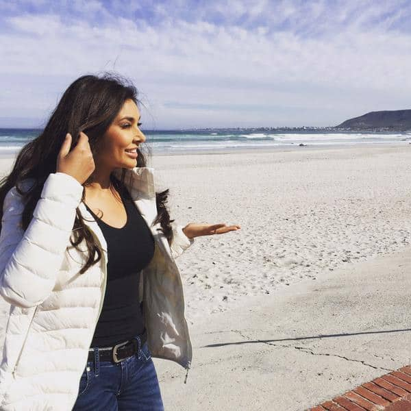 #Grotto beach is miles of white sand and currently experiencing a takeover by the cast and crew of #IshqForever - Twitter@Lisaraniray