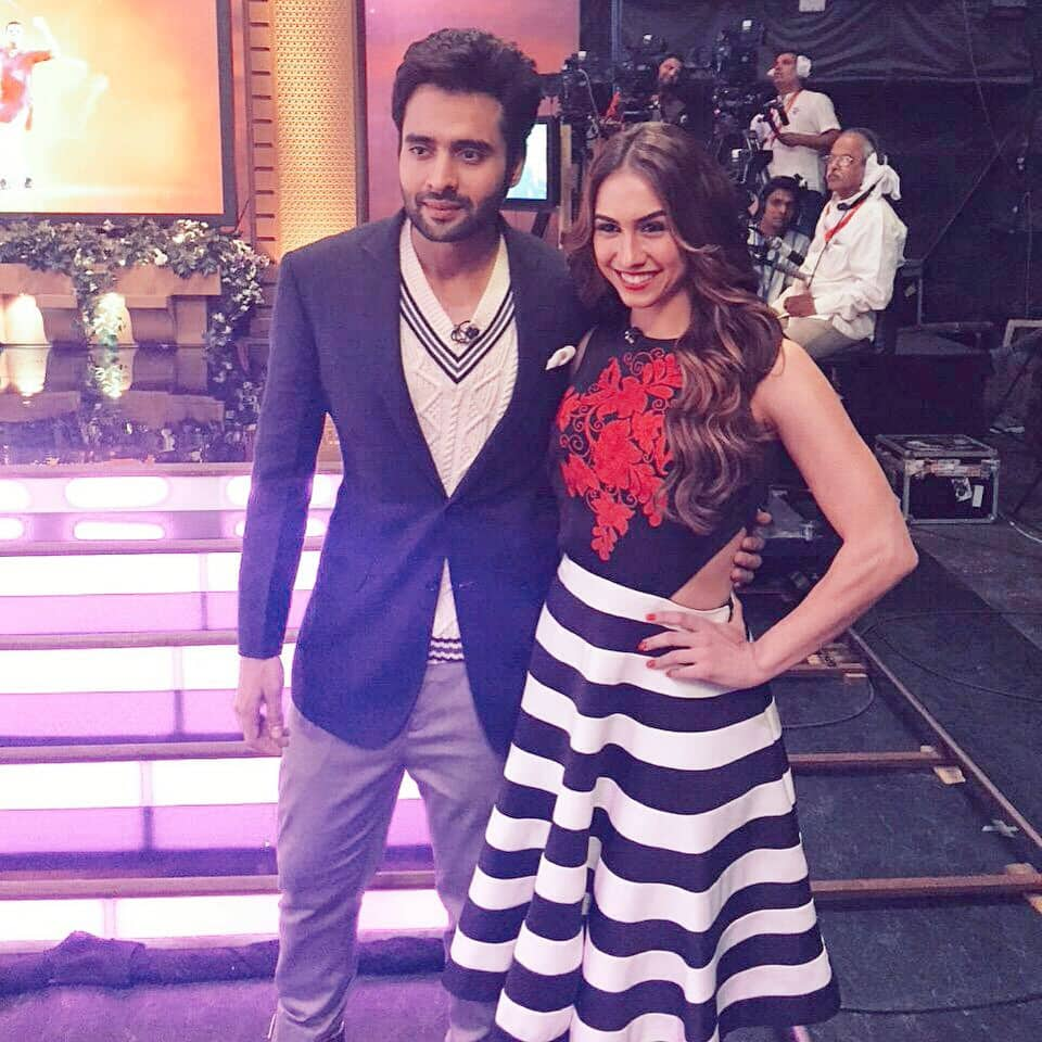 @jackkybhagnani on the sets of @IPL Extra Innings in @BrooksBrothers and @CalvinKlein. Pic Courtesy:Twitter