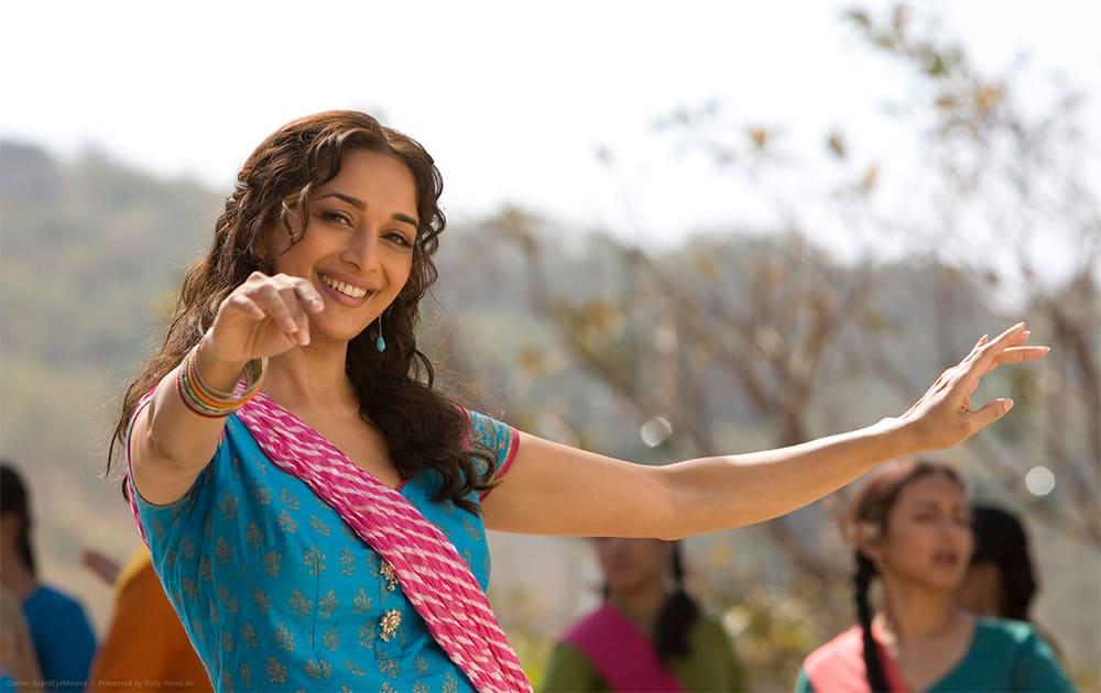 Madhuri Dixit - Hindi cinema's dancing diva