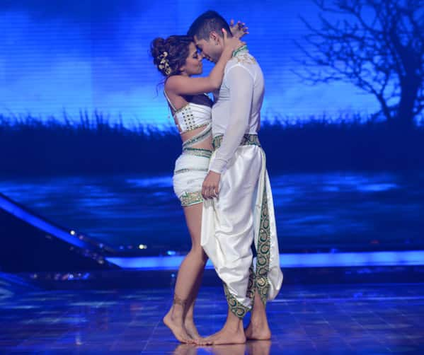It is always exciting to perform on #NachBaliye7. It was #TooMuch fun. - Twitter@sanasaeed17