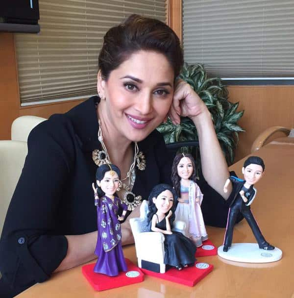 Thanks to my tweethearts for all the Wonderful wishes! A big thanks to all for this fantastic surprise gift! - Twitter@MadhuriDixit