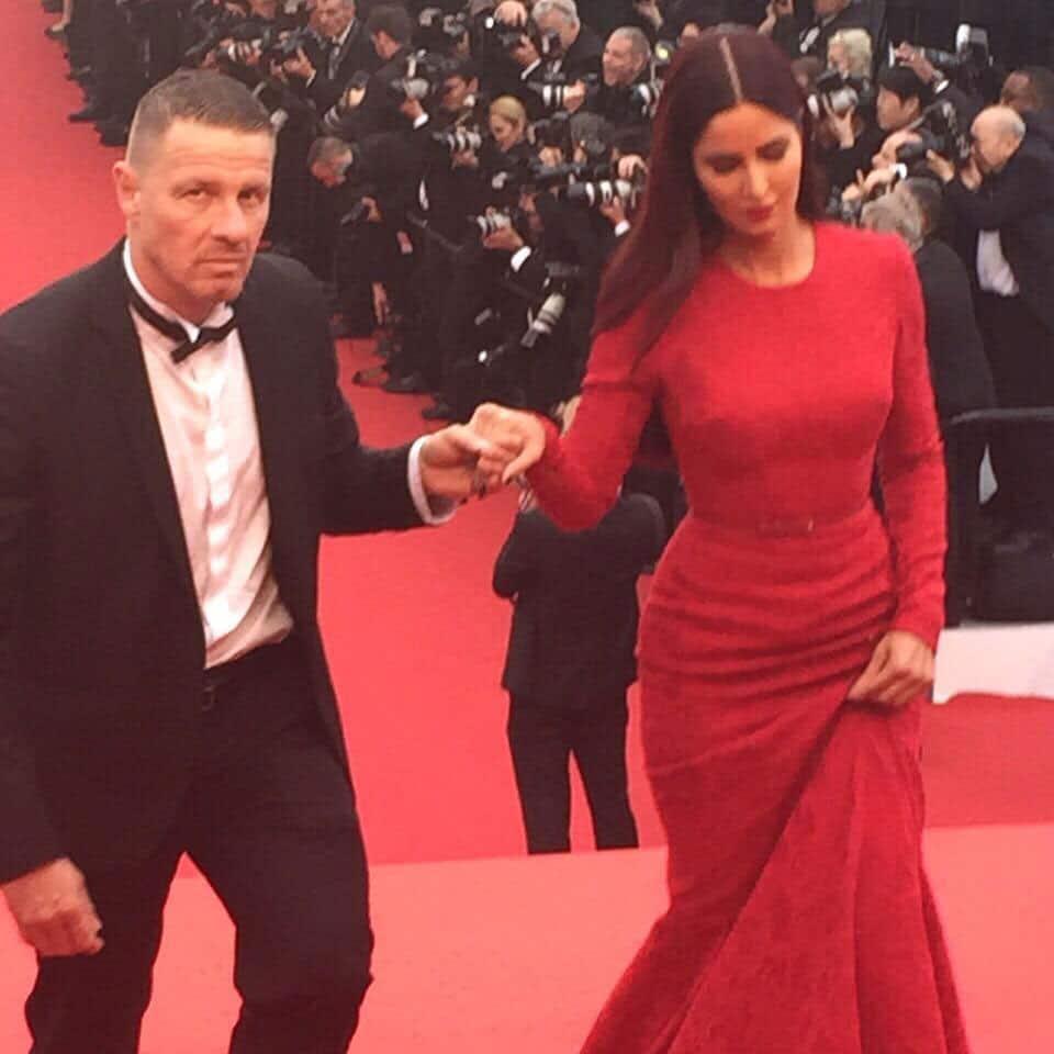 Katrina At Cannes -twitter