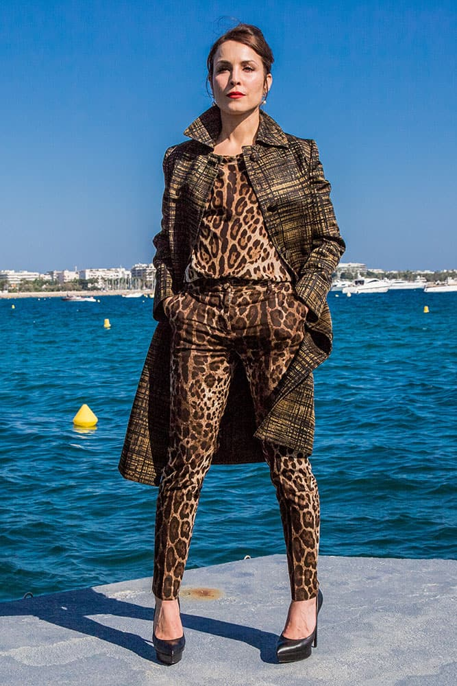 Noomi Rapace poses for photographers during a photo call for the film Callas at the 68th international film festival, Cannes.