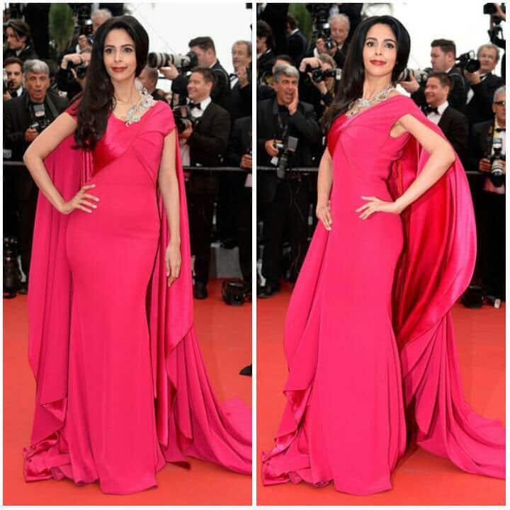 Mallika Sherawat :- More red carpet pics :) #MadMaxFuryRoad #Cannes2015 #boucheron #alexismabille  -twitter