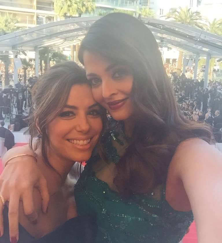 AISHWARYA AT CANNES -TWITTER