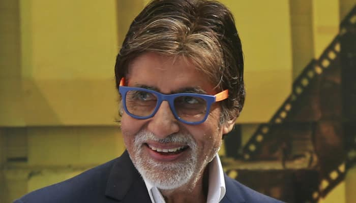 Amitabh Bachchan sweating it out for new film