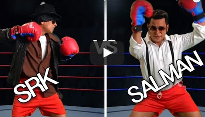 Watch: Comical video takes dig at Shah Rukh, Salman's rivalry