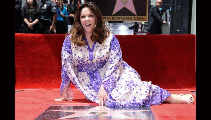 Mellisa McCarthy gets star on Hollywood Walk of Fame