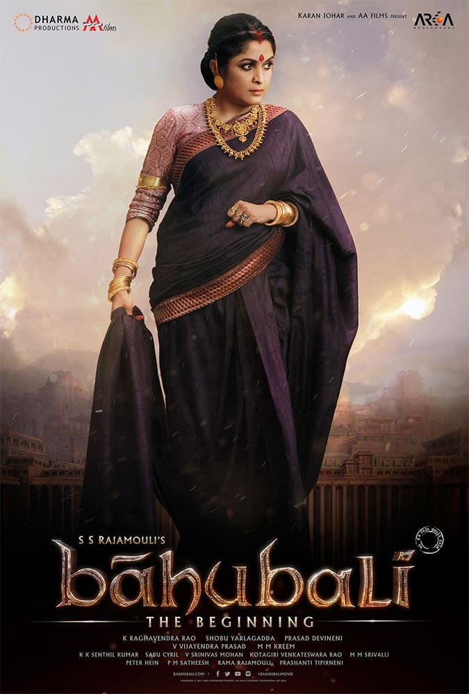 #Sivagami The symbol of unparalleled strength and endurance of a mother. #Baahubali #LiveTheEpic. Twitter@DharmaMovies