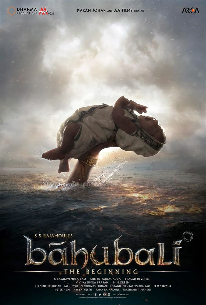 Teaser poster from #Baahubali #LiveTheEpic releasing 10th July, 2015. Twitter@DharmaMovies