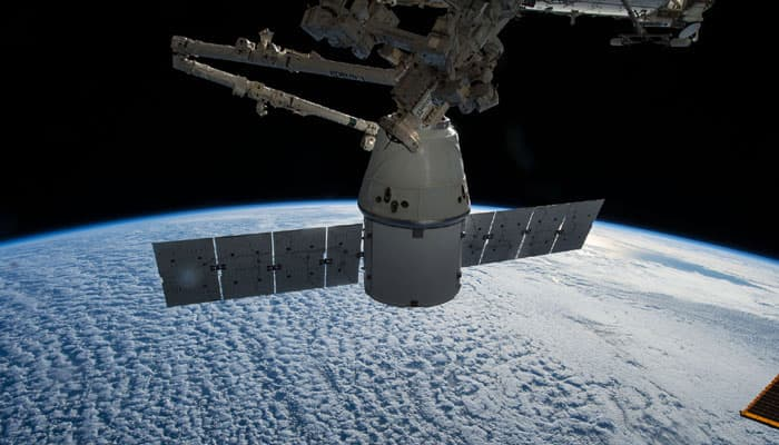SpaceX's Dragon cargo capsule returns to Earth from ISS