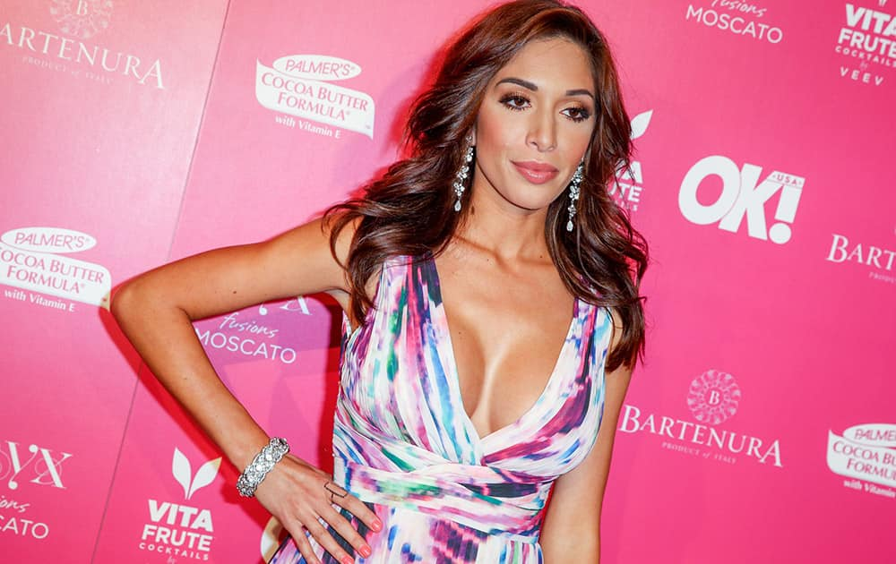 Farrah Abraham arrives at the So Sexy LA Event at SKYBAR at the Mondrian in Los Angeles.