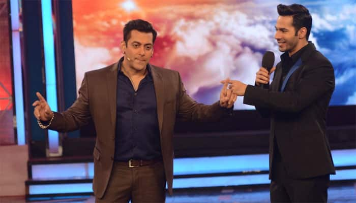 What is Varun Dhawan's promise to Salman Khan?