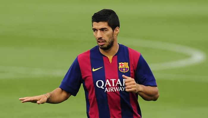 Luis Suarez out of Barca's final La Liga outing of the season
