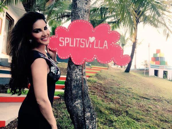 EXCLUSIVE! @SunnyLeone on the set of #Splitsvilla 8. @MTVSplitsvilla -twitter