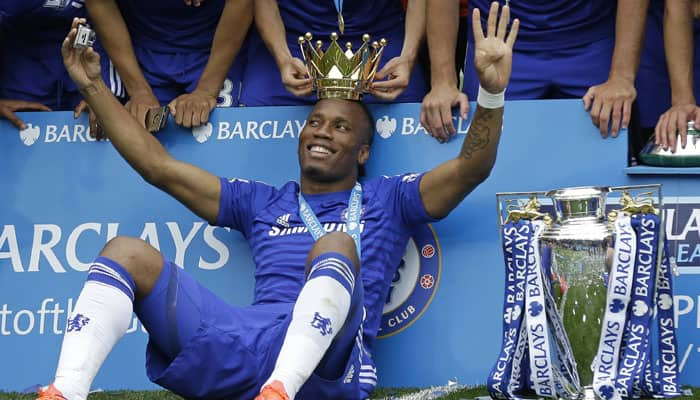 Celebrating Didier Drogba challenges ''new Chelsea'' to emulate him
