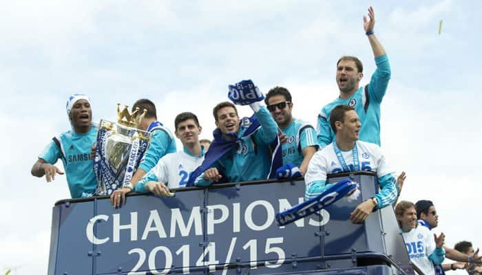 Thousands flock to Chelsea victory parade