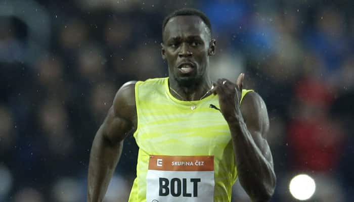 Usain Bolt wins 200m at rain-hit Ostrava