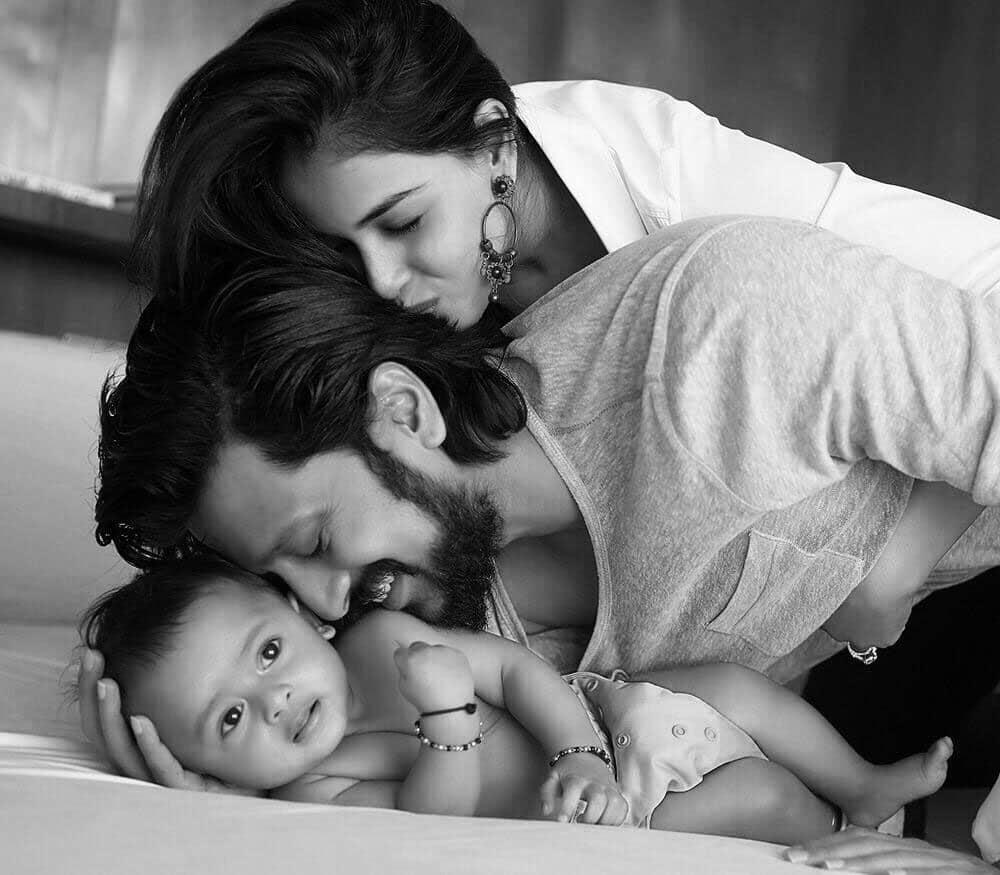Riteish Deshmukh :- Riaan completes Us #geneliad. -twitter