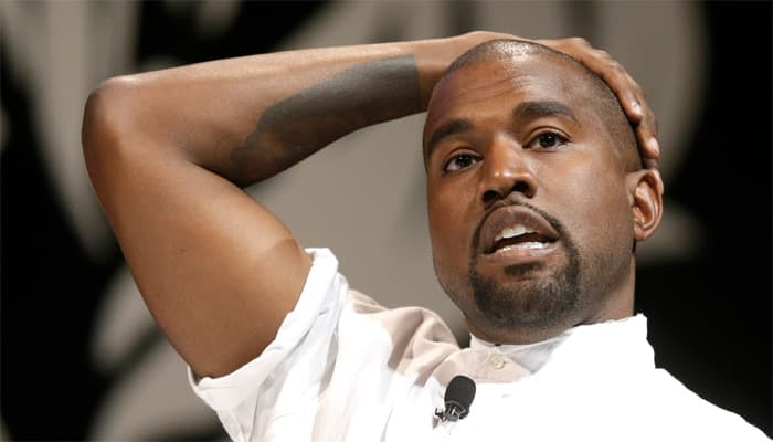 Kanye West almost killed while hiking
