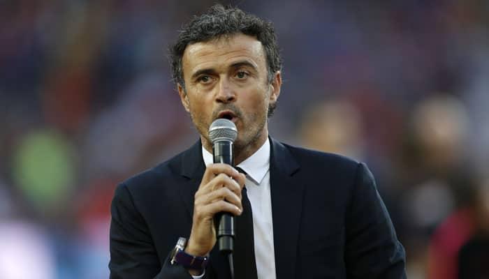 Barca coach Luis Enrique sets sights on treble