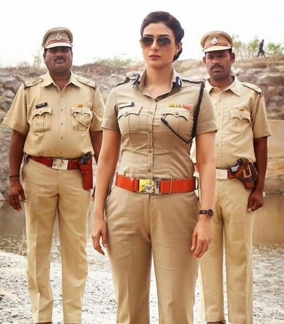 Tabu will be playing thr role of IG Meera Deshmukh in 'Drishyam' which is set to release on 31st July 2015. -twitter