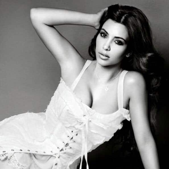 Kim Kardashian West :- I did a shoot yesterday w make up artist Jeanine Lobell & remembered this shoot we did for Glamour about 5 years ago! -twitter