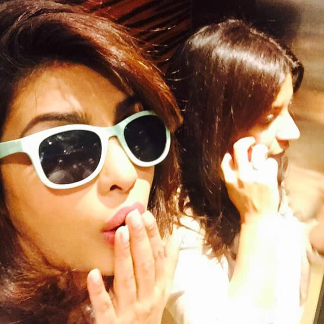 PRIYANKA Aka Ayesha :- #ZoyaAkhtar only on the phone!! #DDD feedback!! -instagram.