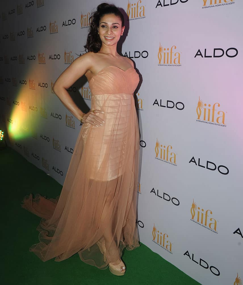 Tanishaa Mukherji during Aldo IIFA pre Bash in Mumbai. -dna