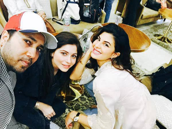 King Mika Singh ‏:- Going to rock @IIFA The Bollywood's Biggest Indian Awards with 2 beautiful ladies @Asli_Jacqueline & @TheKanikakapoor -twitter