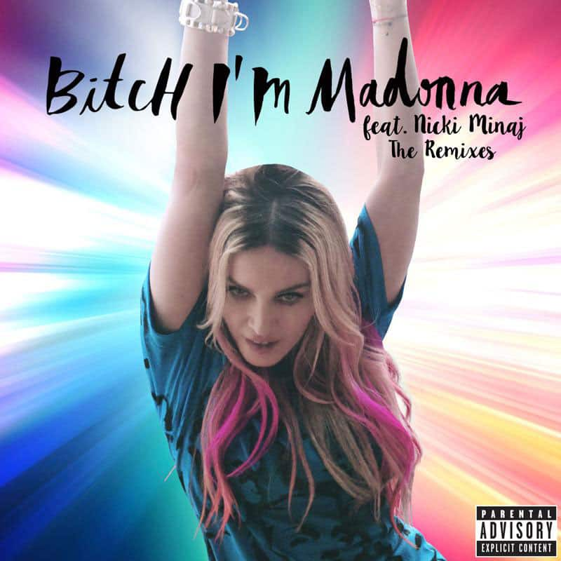 Madonna :- #BitchImMadonna remixes by Sander Kleinenberg, Oscar G and Rosabel are now on Youtube!  -twitter