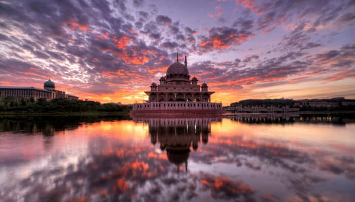 Sunrise at Putra Mosque, Putrajaya