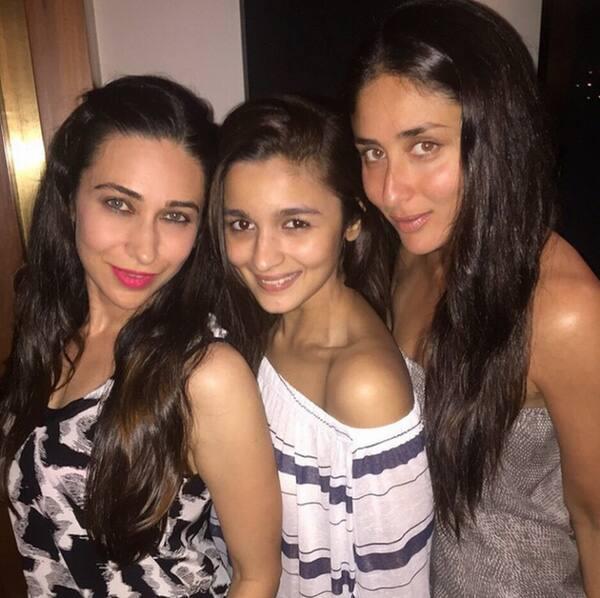 @aliaa08, #KarismaKapoor & #KareenaKapoor's Super Sunday!  Twitter@zeecinema