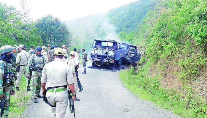 Manipur attack: Indian Army hunts down insurgents along Myanmar border
