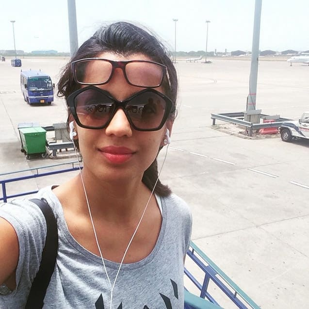 On route #Pondicherry #fun #family #vacation #happiness #fly - Instagram@mugdhagodse