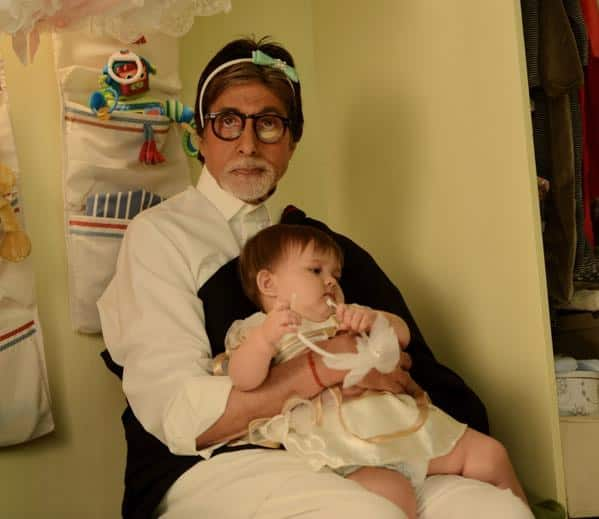 T 1895 - Its love at first sight ... !! Simply the best .. She's Anna .. and she is gorgeous .. !! Twitter@SrBachchan