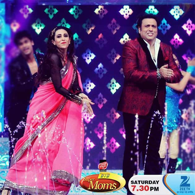 Just two hours to go for #DID #SuperMoms grand finale, starring Govinda-Karishma. Are you excited? Twitter@ZeeTV
