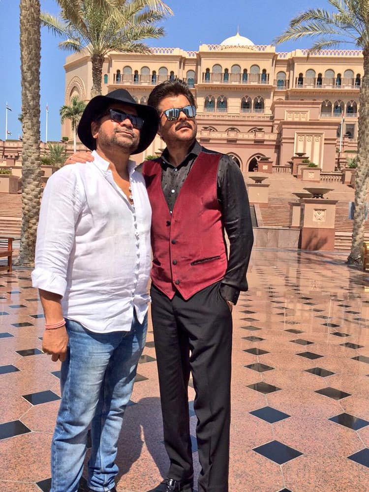 AK @AnilKapoor  :- From No Entry to Welcome to #WelcomeBack!! , its been one laugh riot after another. You're a rockstar Mr.Bazmee! -twitter