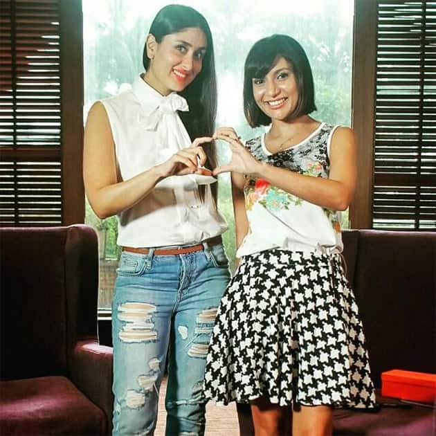 Pic! Kareena Kapoor poses with @MissMalini @BBThisEid Twitter@KareenaMania